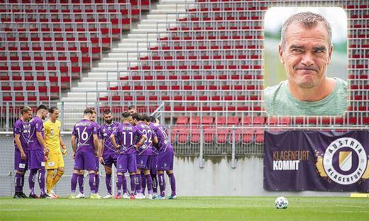 Die Austria hat sich unter Coach Robert Micheu (rechts) zu einer Einheit entwickelt