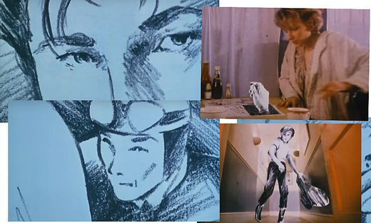 Ausschnitte aus dem Video von a-ha