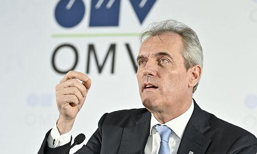 OMV Vorstandsvorsitzender Rainer Seele
