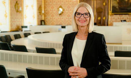 Gabriele Kolar ist neue Präsidentin des Landtages Steiermark