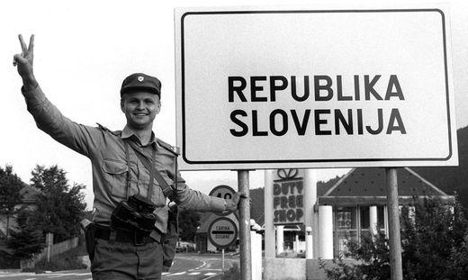 Historischer Moment: Am 25. Juni 1991 erklärte Slowenien sich für unabhängig