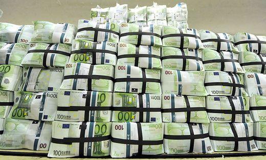 Hunderttausend Euro wurden abgezapft
