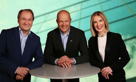 Herbert Pfeilstecher, Alexander Tessmar-Pfohl, Lisbeth Wilding