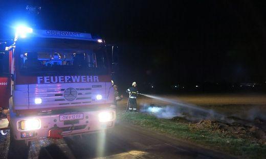 Der Brand konnte von der Feuerwehr Oberwart rasch gelöscht werden