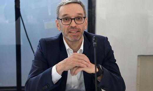 FPÖ-Obmann Herbert Kickl im Ibiza-Untersuchungsausschuss
