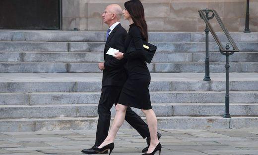 Amazon-Boss Jeff Bezos und seine Frau MacKenzie