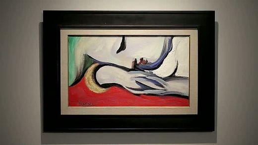 Das Gemälde zeigt Picassos Geliebte Marie-Therese Walter