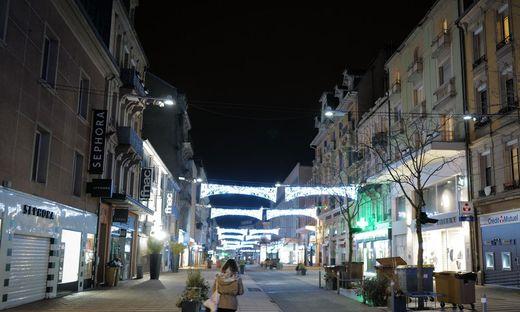 Leere Straßen in Frankreich schon ab 18 Uhr