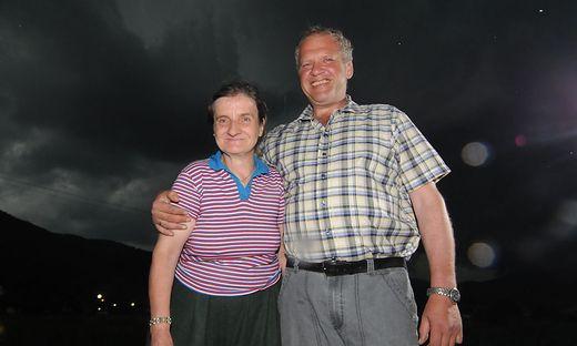 Die verstorbene Martina Moik mit ihrem Bruder Wolfgang Spath