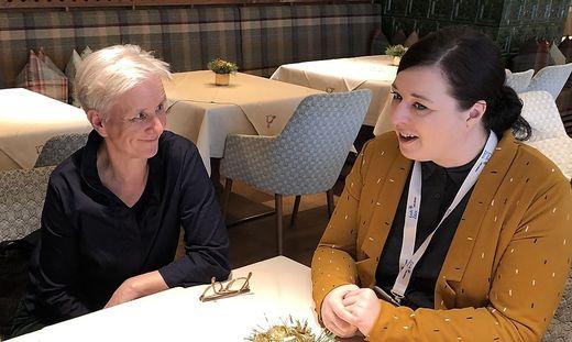 Maria Windhager und Karolin Schwarz