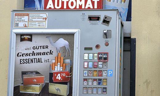 Zigarettenautomaten stehen derzeit im Visier von Tätern