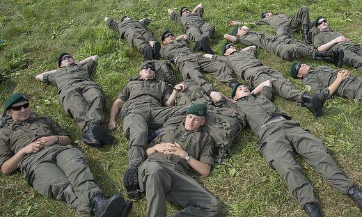 Soldaten bei der Airpower