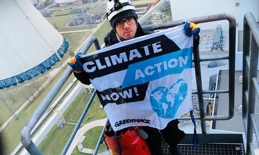 POLAND-ENVIRONMENT-CLIMATE-COAL-GREENPEACE