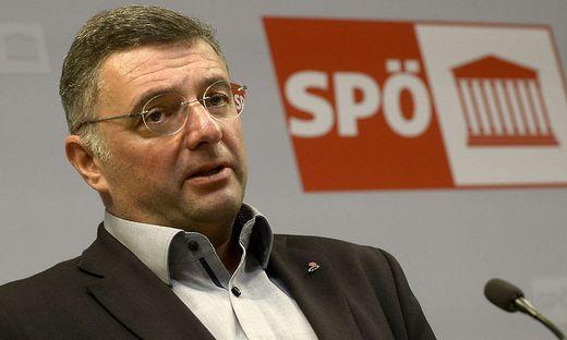 Der stv. SPÖ-Klubobmann Jörg Leichtfried