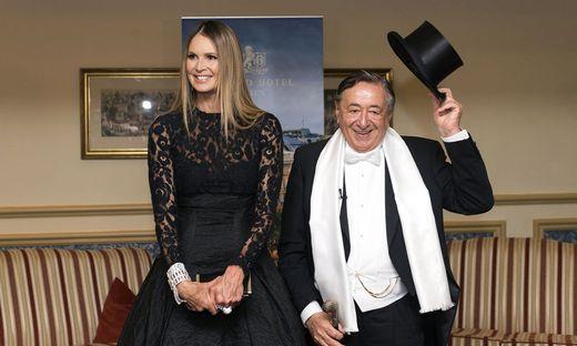 Ellen Macpherson Am Opernball Richard Lugner Glücklich Mit Seinem