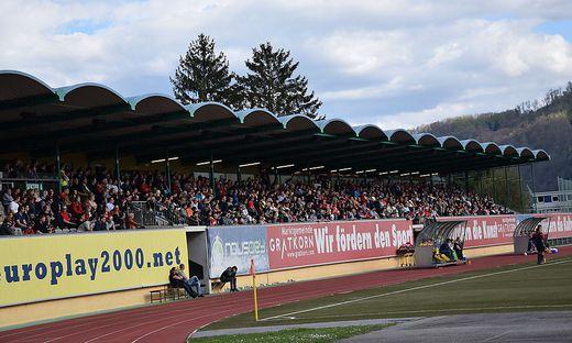 Das Stadion in Gratkorn