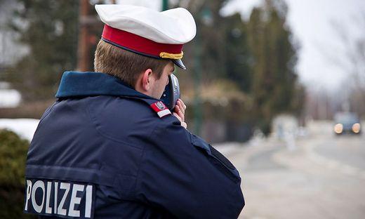 Die Polizei führte Samstagvormittag auf der Packer Bundesstraße Geschwindigkeitskontrollen durch