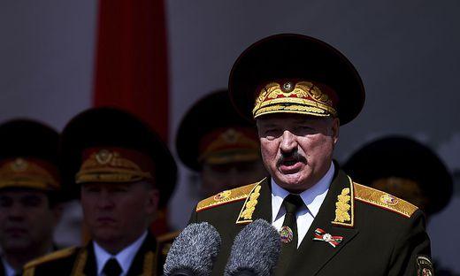 Weißrusslands Diktator Alexander Lukaschennko