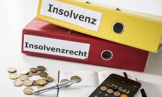 Sujet Insolvenz Insolvenzrecht Insolvenzverfahren Schulden insolvent Jaenner 2019