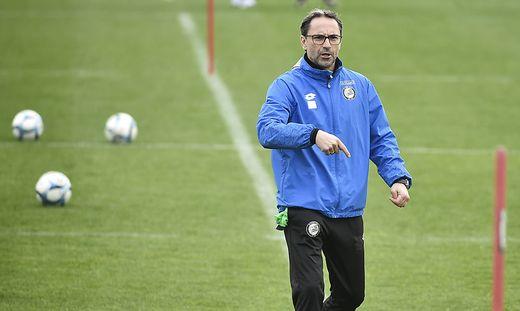 Günther Neukirchner schwingt interimistisch das Zepter beim SK Sturm