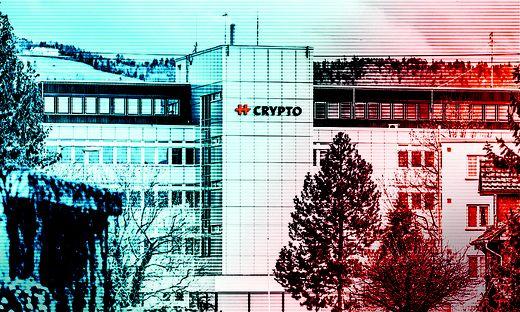 Ausgangspunkt der Affäre: Das Schweizer Unternehmen Crypto AG