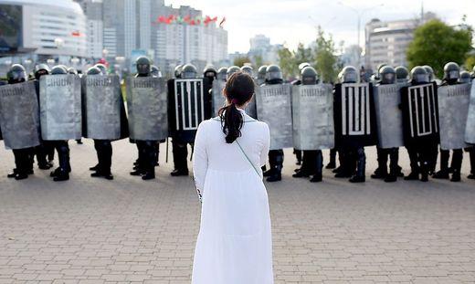 Gerade Frauen stellten sich in Weißrussland dem Regime in den Weg
