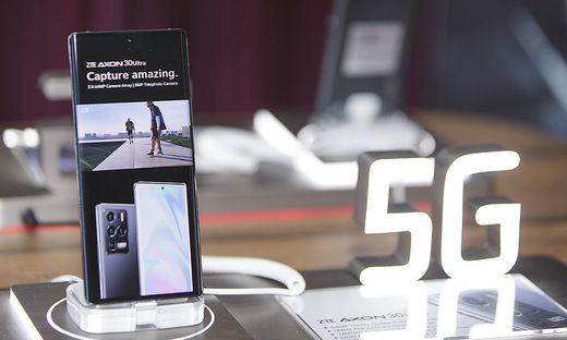 Das High-End-Gerät ZTE Axon 30 Ultra 5G