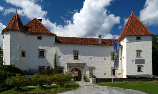 1,5 Millionen Euro beträgt der Preis für das Schloss im Stubenberger Ortszentrum