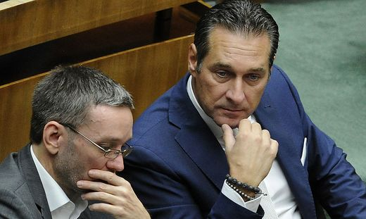 NATIONALRAT: STRACHE/KICKL