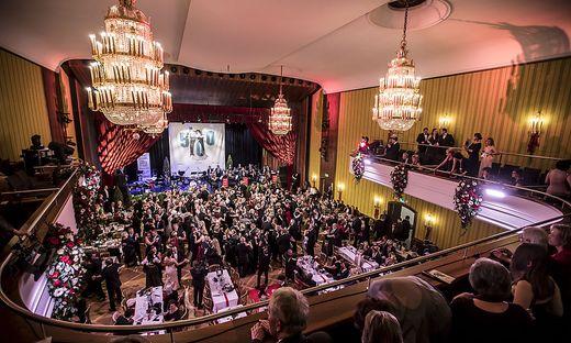 Anlässlich des Jubiläums wurde im Konzerthaus getanzt