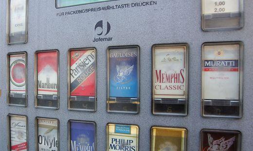 Zigarettenautomat knacken