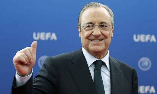 Real-Madrid-Präsident Florentino Perez