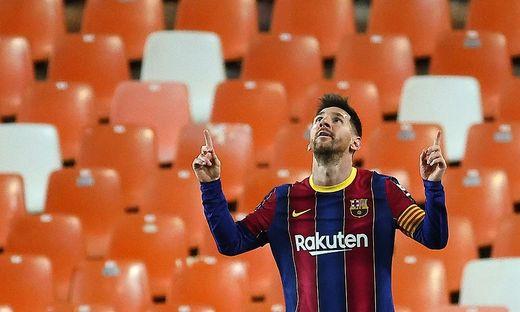 Macht Lionel Messi im Meiterschaftskampf in Spanien den Unterschied aus?