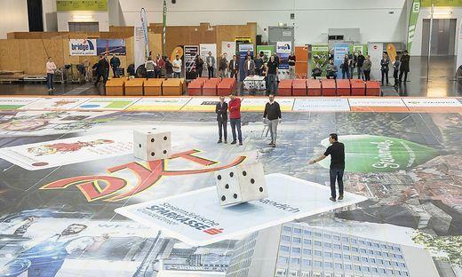 Junge Wirtschaft baute das größte der DKT der Welt in Graz auf