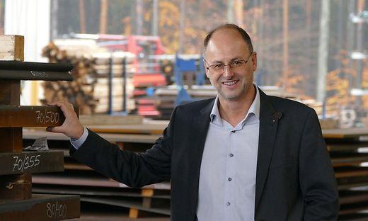 Geschäftsführer des 130-köpfigen Unternehmens: Michael Winkelbauer