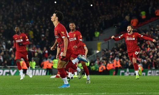 Liverpool jubelt nach Elfmeterschießen