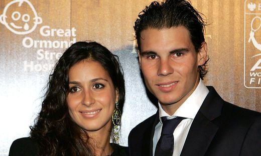 Maria Francisca Perello und Rafael Nadal