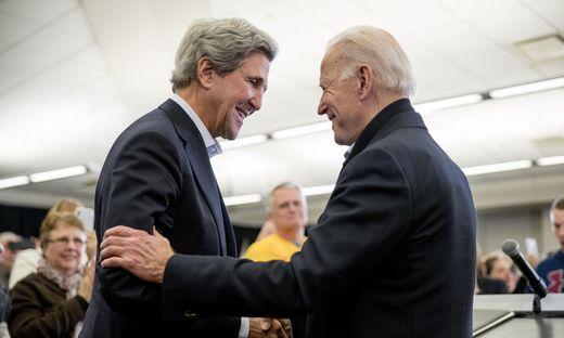 Alte Freunde: John Kerry und Joe Biden
