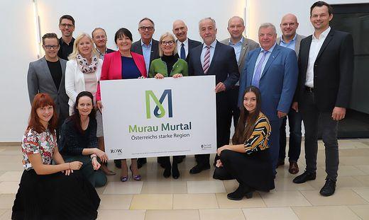 Die Bezirke Murtal und Murau unter einem gemeinsamen Logo