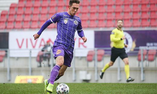 SOCCER - 2. Liga, A.Klagenfurt vs A.Lustenau