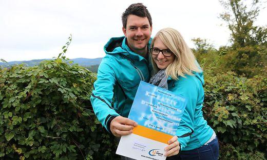 Eva-Maria und Dietmar Wöls sind die Landessieger bei der Agrarolympiade