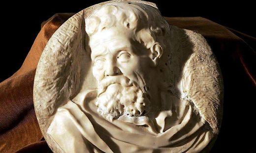 Diese Skulptur könnte ein Selbstporträt sein