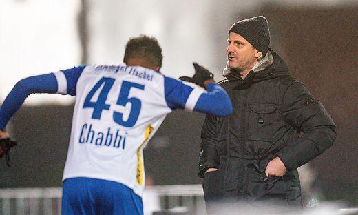 Seifedin Chabbi und Trainer Markus Schopp mussten eine Niederlage hinnehmen
