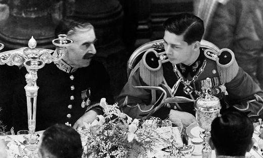FILES-DIPLOMACY-CHAMBERLAIN-MICHAEL OF ROMANIA