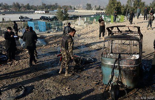 Mindestens 17 Tote bei Anschlag in Afghanistan - Bombe auf Motorrad