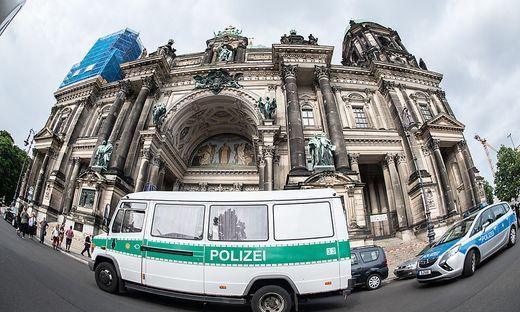 Zwischenfall im Berliner Dom