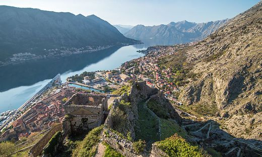 Kotor from the castle
