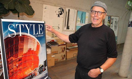 """Mit dem Konzerthaus """"Great Amber"""" sorgte Architekt Volker Giencke für internationale Furore"""