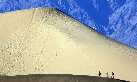 Definifitv nicht (mehr) zu empfehlen: Spaziergänge im Death Valley