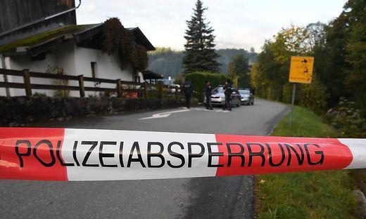 TIROL: POLIZEI ERMITTELT IN KITZBUeHEL WEGEN FUeNFFACHEN MORDES